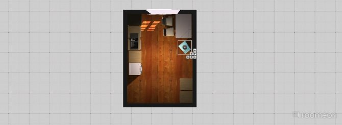 Raumgestaltung Bude2 in der Kategorie Küche