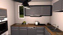 Raumgestaltung Café Küche in der Kategorie Küche