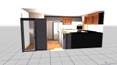 Raumgestaltung Cathy's New Kitchen in der Kategorie Küche