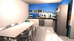 Raumgestaltung coffee room in der Kategorie Küche