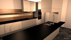 Raumgestaltung Communal Kitchen in der Kategorie Küche