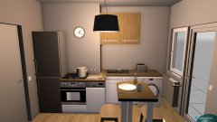 Raumgestaltung Crissies Küche in der Kategorie Küche