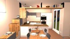 Raumgestaltung Cuci-salotto 2 in der Kategorie Küche