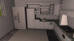 Raumgestaltung cucina in der Kategorie Küche