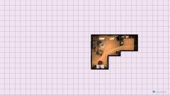 Raumgestaltung Drümmers Küche und Wohnzimmer in der Kategorie Küche