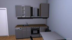 Raumgestaltung Felix Wohnküche in der Kategorie Küche