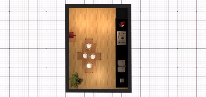Raumgestaltung Fischertal 39, EG. - Küche - 2 in der Kategorie Küche