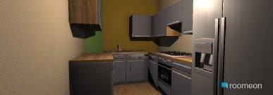 Raumgestaltung gray in der Kategorie Küche