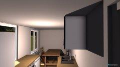 Raumgestaltung großer Tisch in der Kategorie Küche