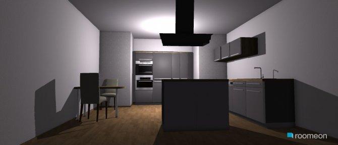 Raumgestaltung Grundrissvorlage Erker in der Kategorie Küche