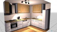 Raumgestaltung Grundrissvorlage Küche in der Kategorie Küche
