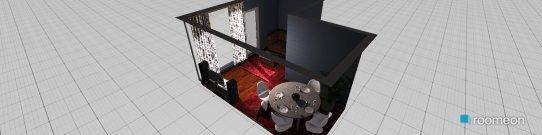 Raumgestaltung Grundrissvorlage L-Form in der Kategorie Küche