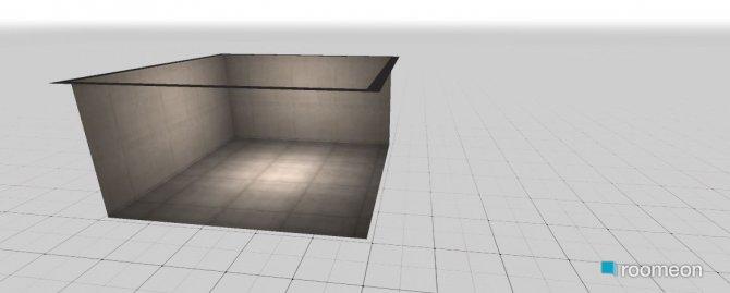 Raumgestaltung Grundrissvorlage Quadrat in der Kategorie Küche