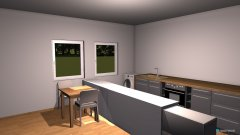 Raumgestaltung Grundrissvorlage  in der Kategorie Küche