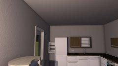 Raumgestaltung Hannah_Küche_Wohnraum_Esszimmer in der Kategorie Küche