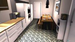 Raumgestaltung Haus Küche in der Kategorie Küche