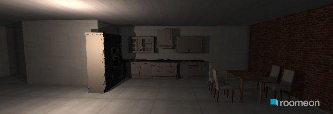 Raumgestaltung haus in der Kategorie Küche