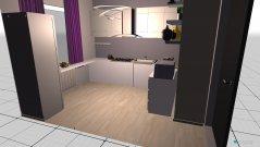Raumgestaltung Home kitchen in der Kategorie Küche