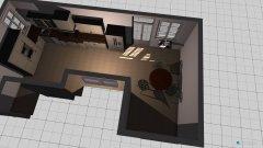 Raumgestaltung interior kitchen draft in der Kategorie Küche