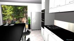 Raumgestaltung island kitchen grey in der Kategorie Küche