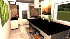 Raumgestaltung keuken in der Kategorie Küche