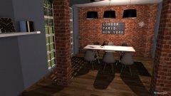 Raumgestaltung Kitchen and Dining room in der Kategorie Küche