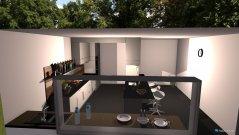 Raumgestaltung kitchen of Bar in der Kategorie Küche