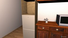 Raumgestaltung Kitchen in der Kategorie Küche