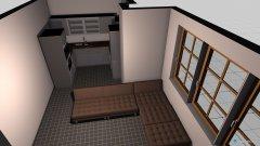 Raumgestaltung Kleine Wonhküche in der Kategorie Küche