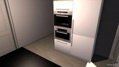 Raumgestaltung Kochinsel in der Kategorie Küche