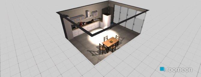 Raumgestaltung Konstantinovska 10 kitchen in der Kategorie Küche
