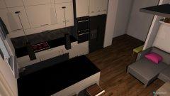 Raumgestaltung kuchnia-salon in der Kategorie Küche
