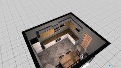 Raumgestaltung kuchnia3 in der Kategorie Küche