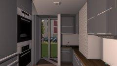 Raumgestaltung KuchniaKlocekSrodek in der Kategorie Küche