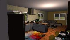 Raumgestaltung kuchyna a obyvacka - dom 2 in der Kategorie Küche