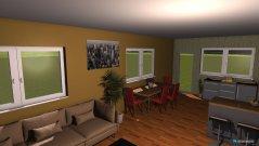 Raumgestaltung KUCHYNA A OBYVACKA - DOM 3 in der Kategorie Küche