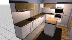 Raumgestaltung Kuchyna Tomanovci in der Kategorie Küche