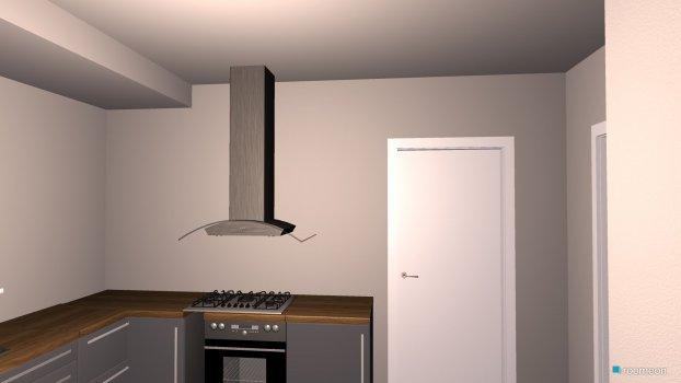 raumplanung k che 3 decke min trockenbau mit dunstabzug roomeon community. Black Bedroom Furniture Sets. Home Design Ideas