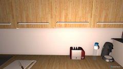Raumgestaltung Küche 3 Kühlschrank in der Kategorie Küche