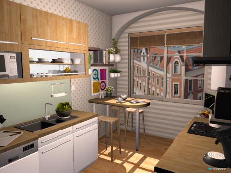 Raumgestaltung kueche after in der Kategorie Küche