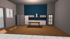 Raumgestaltung Küche Andi in der Kategorie Küche