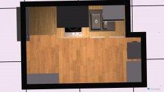 Raumgestaltung Küche Dorota in der Kategorie Küche