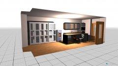 Raumgestaltung Küche EG2 in der Kategorie Küche