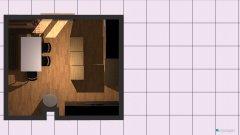 Raumgestaltung Küche Grundriss alt in der Kategorie Küche