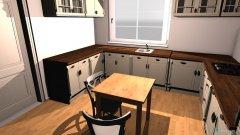 Raumgestaltung küche idee in der Kategorie Küche