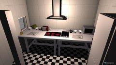 Raumgestaltung küche klein in der Kategorie Küche