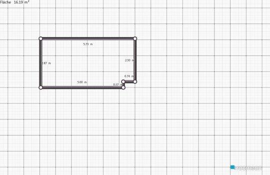 Raumgestaltung Küche leer in der Kategorie Küche