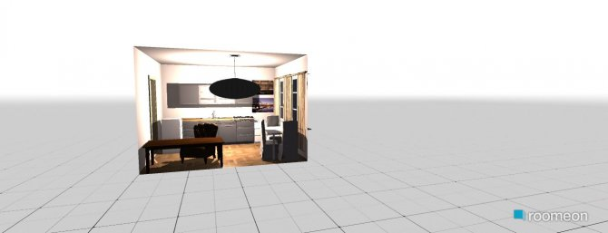 Raumgestaltung Küche nach Renovierung in der Kategorie Küche