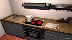 Raumgestaltung Küche ohne Maßen in der Kategorie Küche