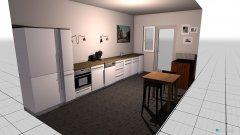 Raumgestaltung Küche ohne Oberschrank 2 in der Kategorie Küche